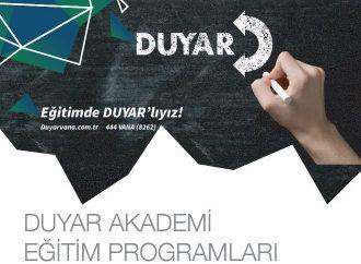 Duyar Akademi Eğitim Programları
