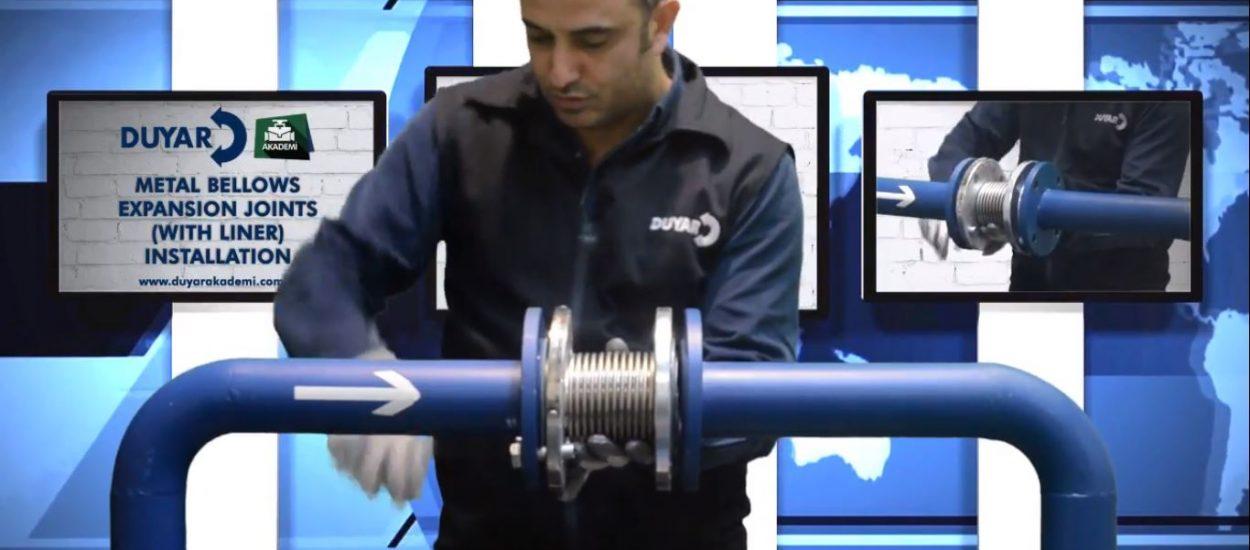 Metal Körüklü Kompansatör Montajı